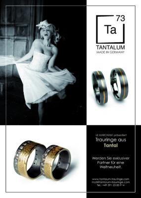 Salzburger JuwelierKREMO kreativ modern hat IhreKREMO Trauringe ( auch Exclusice Tantal-Ringe ). Persönliche Beratung durchReinhard Maria DamischUhren, Ringe & Schmuck Berater Salzburg.