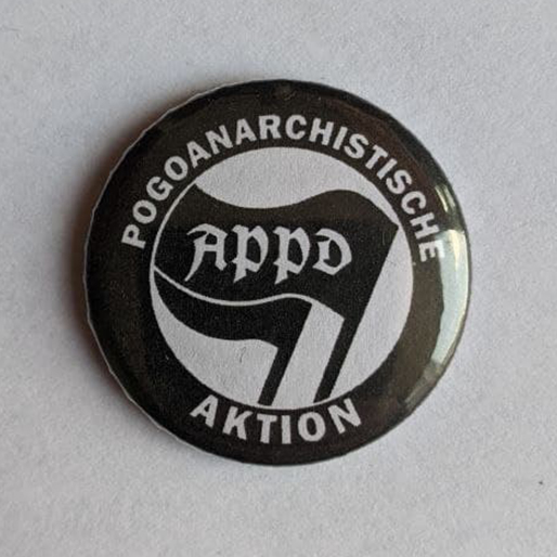 "Button ""Pogoanarchistische Aktion"""
