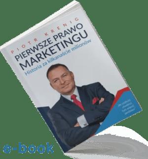 """""""Pierwsze Prawo Marketingu"""" e-book"""