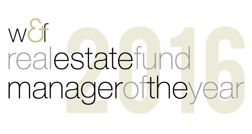 Real Estate Fund Manager of the Year 2016