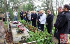Cmentarz w Lerypolu. Zdjęcie ze strony Związku Polaków na Białorusi.