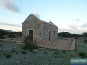 kleine Kirche auf der Halbinsel Spinalonga