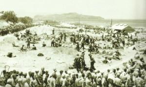 Kriegsgefangenenlager für Briten und Griechen