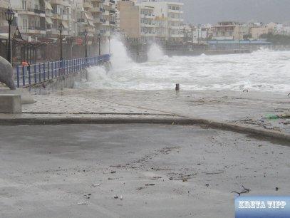 Winterstürme in Ierapetra.