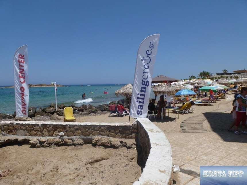 Strand von Malia