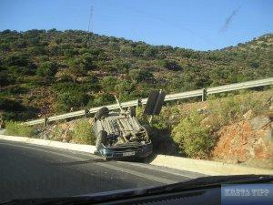 Auto-Scooter auf Kreta