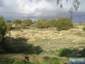 Ausgrabung der Ruinen von Kommos.