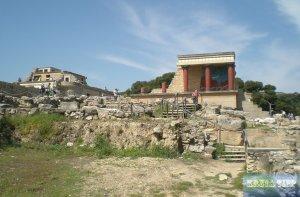 Palastgelände von Knossos