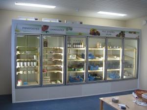 """Külmkamber klaasuksega"""" Termofrost"""""""
