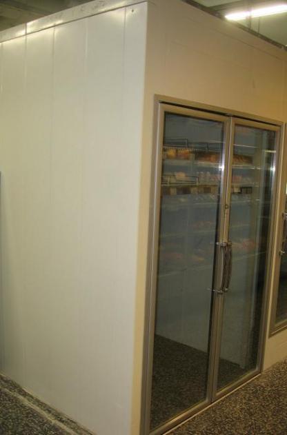 Külmlmkamber Termofrost klaasustega