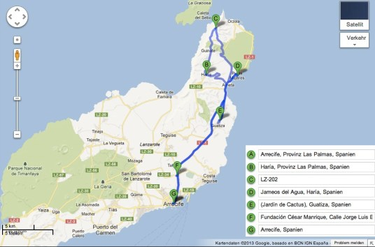 Lanzarote Tour 1
