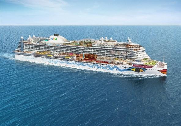 Grafische Darstellung der Highlights von AIDAprima. Bildquelle: AIDA Cruises