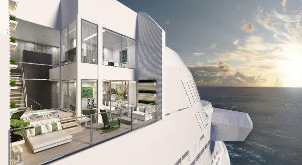 Celebrity Cruises Celebrity Edge Villa