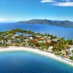 Harvest Caye Aerial Norwegian Cruise Line
