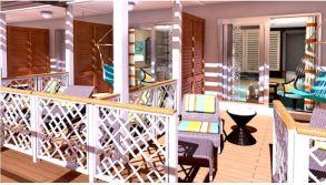 Carnival Cruise Line Carnival Horizon Havanna Suite Veranda