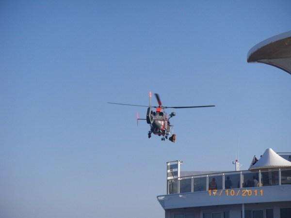 Kreuzfahrt 4.0 Hubschrauber Krankentransport-kreuzfahrt