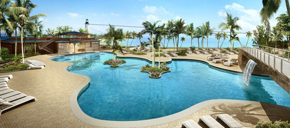 Foto: © Norwegian Cruise Line Harvest Caye Pool