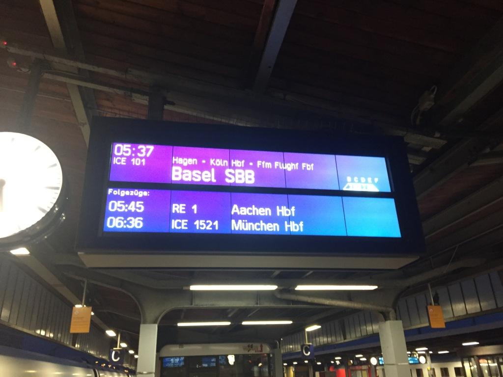 reisebericht donau GEO Cruise flussreise nicko cruises Anreise Bahnhof Frankfurt