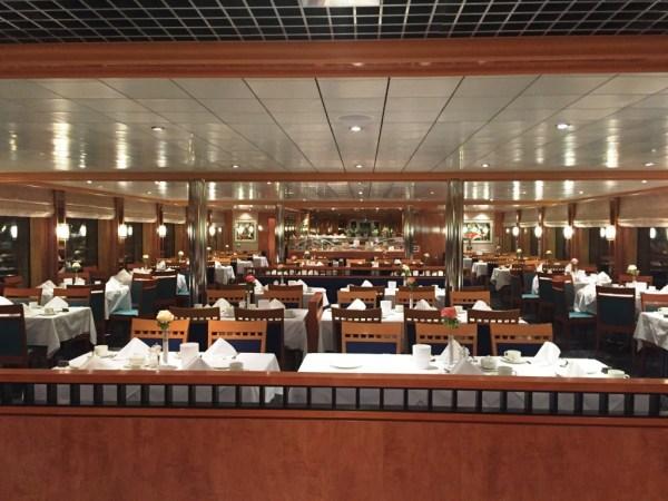 reisebericht donau flussreise nicko cruises MS Maxima Restaurant
