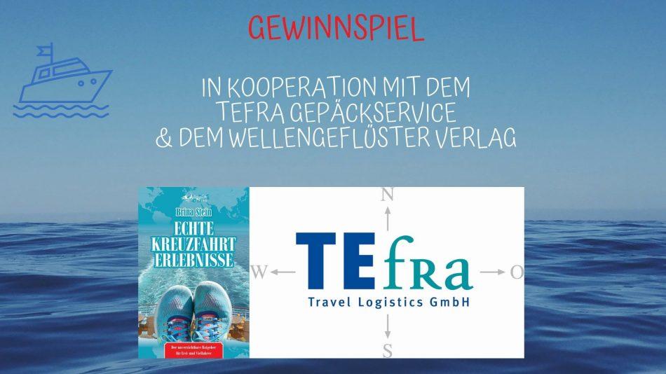 Gewinnspiel zum Neustart der Kreuzfahrten mit dem TEfra Gepäckservice!