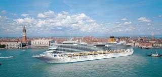 , Unfall: Costa Pacifica rammt Pier in Marseille