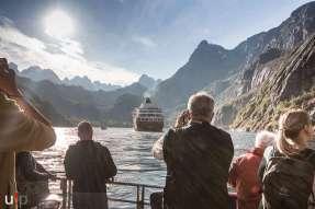 MS Finnmarken im Trollfjord