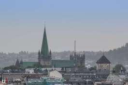 Der Nidarosdom von Trondheim.