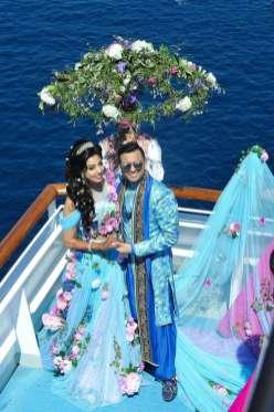 First private cruise wedding on Costa Fascinosa_Sana & Adel klein