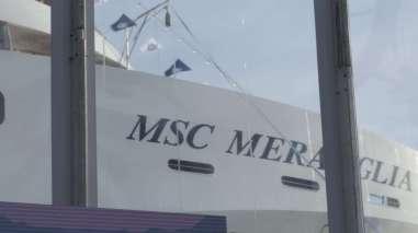 MSC Meraviglia Taufe