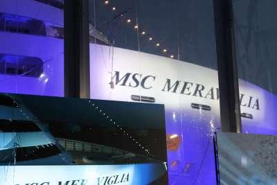 MS Meraviglia Taufe