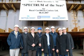 Kiellegung Spectrum of the Seas_DSC4046
