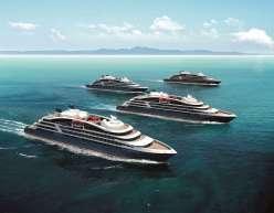 Ponant Explorers - 4 Schiffe (c) Ponant - Sterling Design International