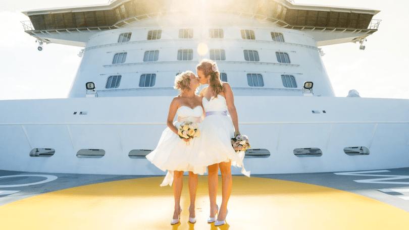 Tui Cruises Regenbogenhochzeit