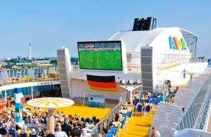 , Fußball-Weltmeisterschaft auf der AIDA Flotte