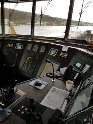 Brücke MS Alena