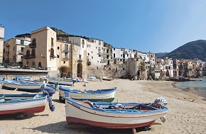 Italy, from Palermo - Cefalù