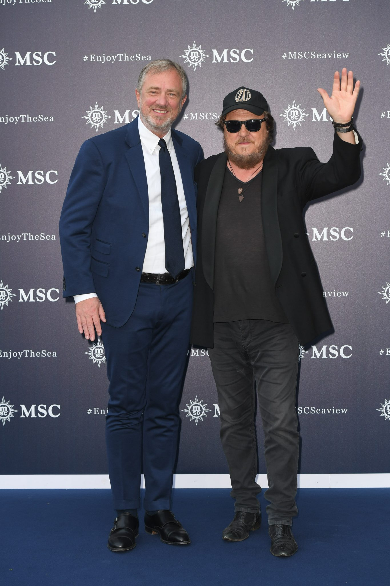 MSC Cruises Executive Chairman, Pierfrancesco Vago and Zucchero