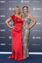 Michelle Hunziker and Lorella Cuccarini (3)