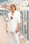 Michelle Hunziker exploring MSC Seaview