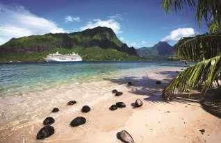 Crystal Serenity - Moorea Französisch Polynesien - Foto Crystal Cruises k