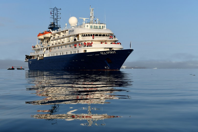 SeaSpiritAufSee Foto Poseidon Expeditions Page Chihester
