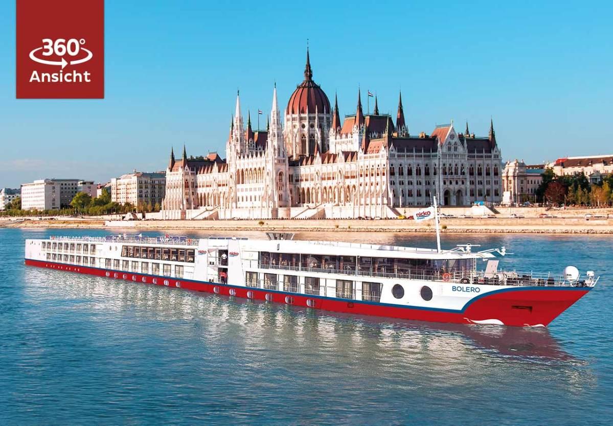 ZDF Doko mit Nicko Cruises auf der Donau