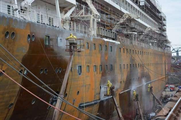 , MS Amera – Umbaumaßnahmen für den Flottenzuwachs