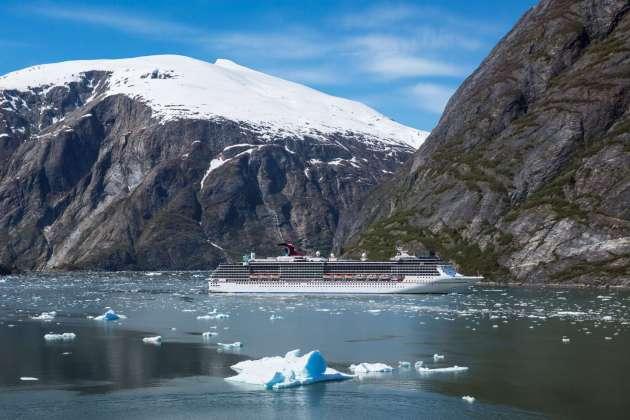 Alaska Kreuzfahrten carnival Cruise Line, PM: Carnival weitet Alaska-Angebot aus – 2021 mit zwei Schiffen zu den Gletscherwelten Nordamerikas