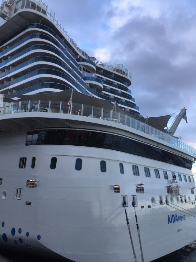 AIDAnova Reisebericht / AIDA Cruises, Reisebericht AIDAnova 1 Teil – Anreise & Welcome on Bord
