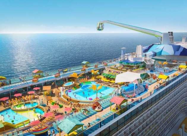 , Royal Caribbean enthüllt Details zu Odyssey of the Seas Zweites Schiff der Quantum Ultra-Klasse startet ab November 2020 in die Karibik