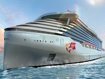 Virgin Cruises MS Scarlet Lady
