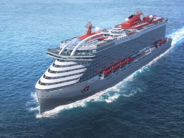 Virgin Cruises MS Variant Lady