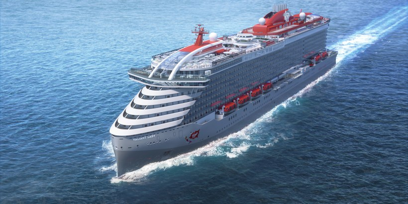 Virgin Cruises MS Variant Lady
