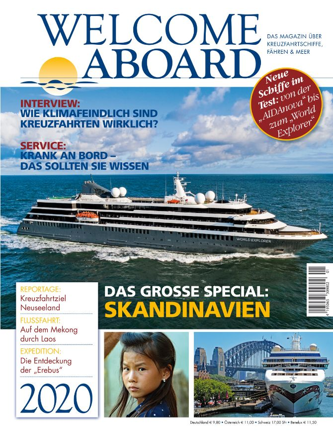 Magazin WELCOME ABOARD